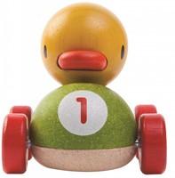 Plan Toys  Holz Spielfahrzeug Rennwagen Ente-2