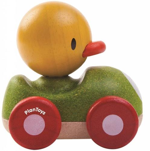 Plan Toys  Holz Spielfahrzeug Rennwagen Ente-3