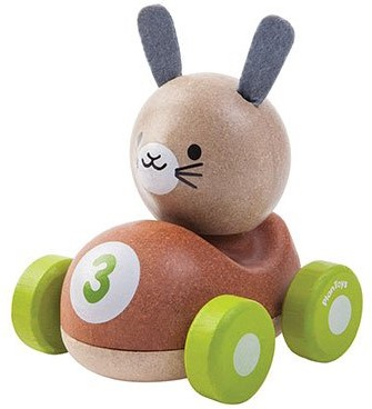 Plan Toys Holz Auto Kaninchen