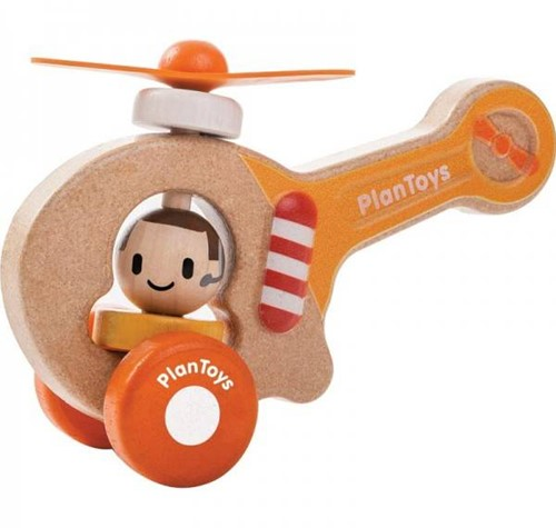 Plan Toys Holz Helikopter