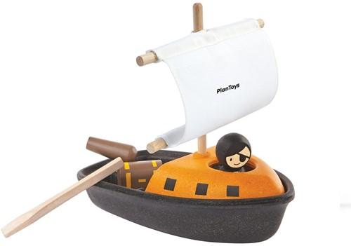 Plan Toys  Holz Badespielzeug Piratenschiff