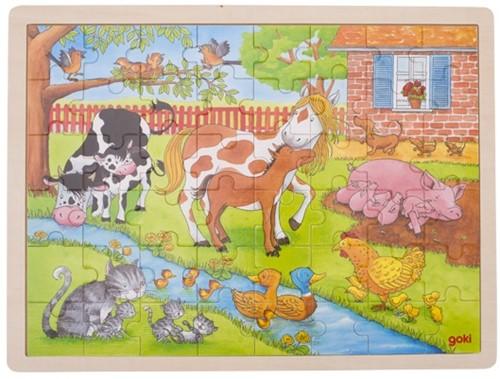 Goki 57745 Puzzle Puzzlespiel 48 Stück(e)