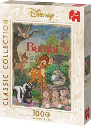 Disney Bambi Movie Poster 1000 pcs Puzzlespiel 1000 Stück(e)