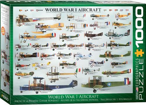 Eurographics Puzzle World War I Aircraft - 1000 Teile