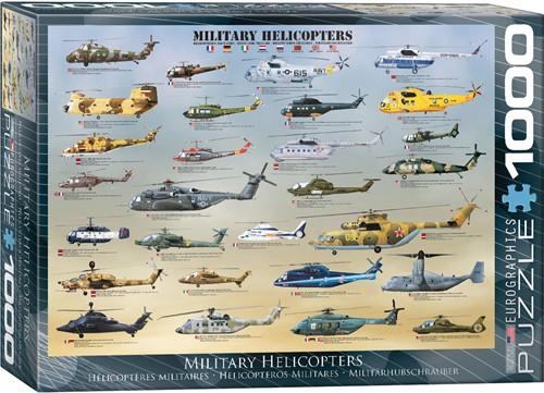 Eurographics puzzle Militärhubschrauber - 1000 Teile