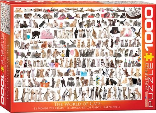 Eurographics puzzle Katzenwelt - 1000 Teile