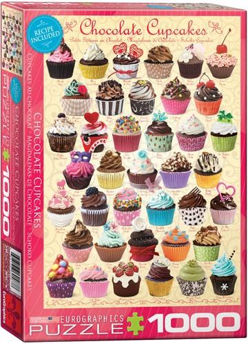 Eurographics puzzle Shokoladen Cupcakes - 1000 Teile