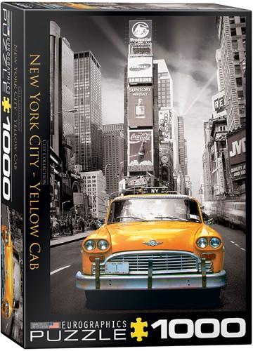 Eurographics Puzzle New York City - Yellow Cab - 1000 Teile