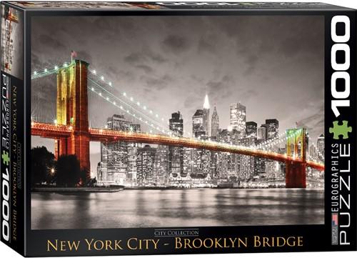Eurographics puzzle New York City Brooklyn Bridge - 1000 Teile