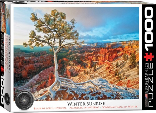 Eurographics puzzle Sonnenaufgang im Winter - 1000 Teile