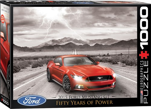 Eurographics Puzzle Fifty Years of Power - 2015 - 1000 Teile