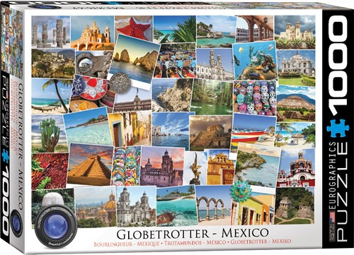 Eurographics puzzle Globetrotter Mexico - 1000 Teile