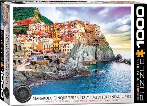 Eurographics puzzle Cinque-Terre Manarola Italy - 1000 Teile