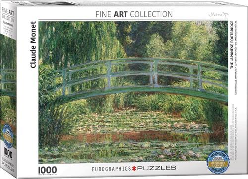 Eurographics puzzle Claude Monet - Japanische Brücke - 1000 Teile