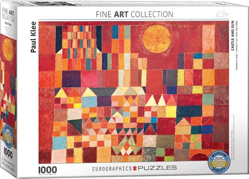 Eurographics puzzle Paul Klee - Burg und Sonne - 1000 Teile