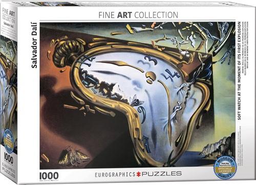 Eurographics puzzle Dali: Weiche Uhr im Moment ihrer ersten Explosion - 1000 Teile