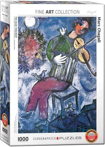 Eurographics puzzle Marc Chagall - Der blaue Geiger - 1000 Teile