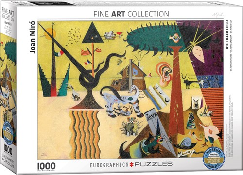 Eurographics puzzle Joan Miro - The Tilled Field - 1000 Teile