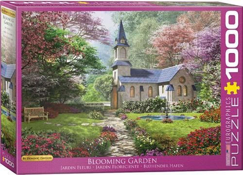 Eurographics puzzle Dominic Davison - Blühender Garten - 1000 Teile
