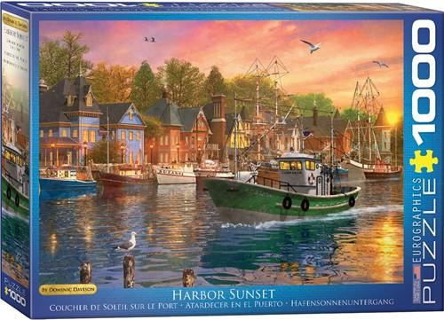 Eurographics Puzzle Harbor Sunset - Dominic Davison - 1000 Teile