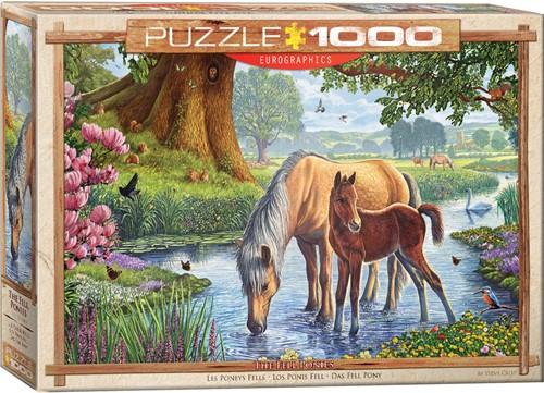 Eurographics puzzle Steve Crisp - The Fell Ponies - 1000 Teile