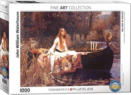 Eurographics puzzle Waterhouse: Die Lady von Shalott, 1888 - 1000 Teile