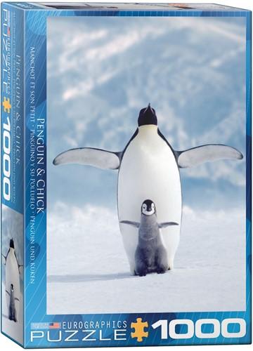 Eurographics puzzle Pinguin und sein Kleines - 1000 Teile
