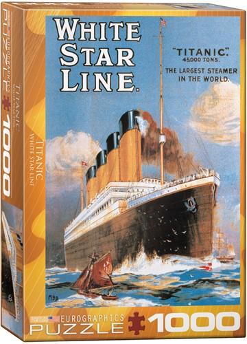Eurographics puzzle Titanic - 1000 Teile