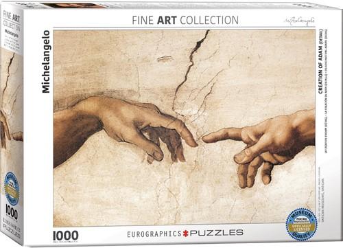 Eurographics Puzzle Creation of Adam - Detail Teile - Michelangelo - 1000 Teile