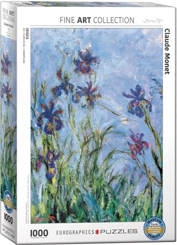 Eurographics puzzle Claude Monet: Schwertlilien (Detail) - 1000 Teile