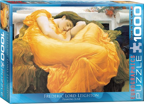 Eurographics puzzle Frederick Lord Leighton: Flaming June - 1000 Teile