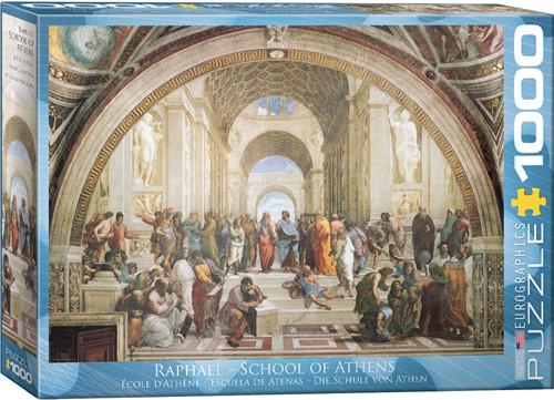 Eurographics puzzle Raphaël: Die Schule von Athen - 1000 Teile