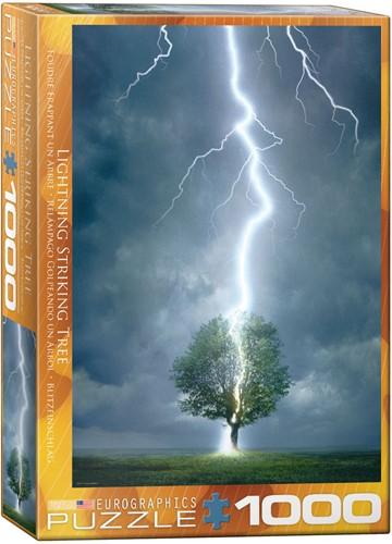 Eurographics puzzle Blitzeinschlag - 1000 Teile