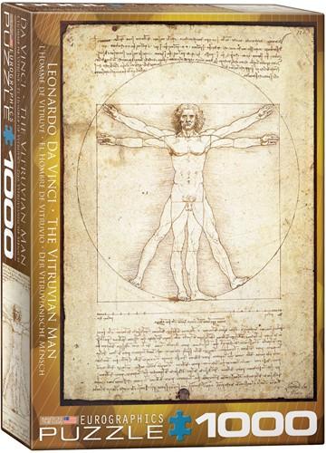 Eurographics Puzzle The Vitruvian Man - 1000 Teile