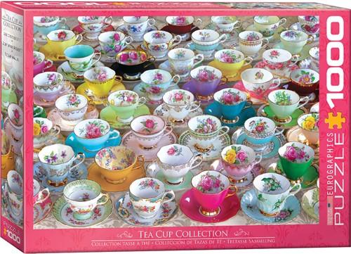 Eurographics puzzle Teetasse Sammlung - 1000 Teile