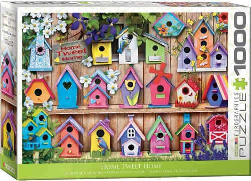 Eurographics puzzle Home Tweet Home - 1000 Teile