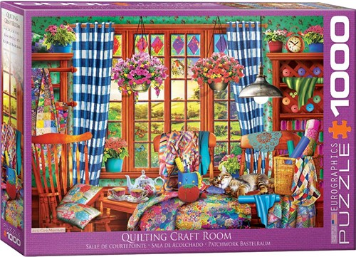 Eurographics puzzle Patchwork Craft Room - 1000 Teile