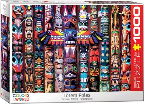Eurographics puzzle Totem Poles - 1000 Teile