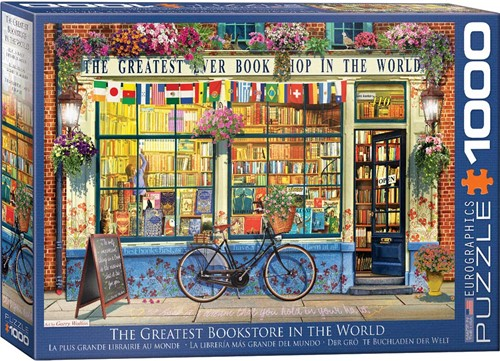 Eurographics puzzle The Greatest Bookstore in the World - 1000 Teile