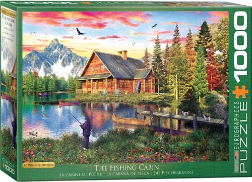 Eurographics Puzzle The Fishing Cabin - Dominic Davison - 1000 Teile