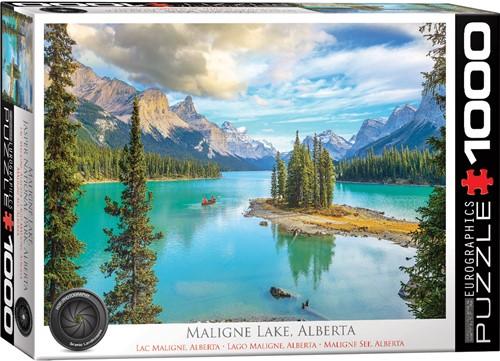 Eurographics puzzle Maligne Lake Alberta - 1000 Teile