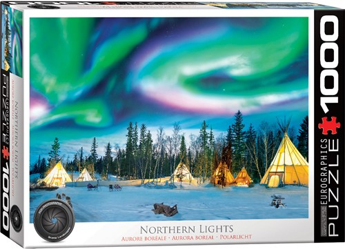 Eurographics puzzle Northern Lights - Yellowknife - 1000 Teile