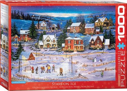 Eurographics puzzle Stars on the Ice - 1000 Teile