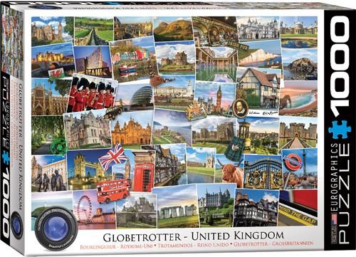 Eurographics puzzle Globetrotter Vereinigtes Königreich - 1000 Teile