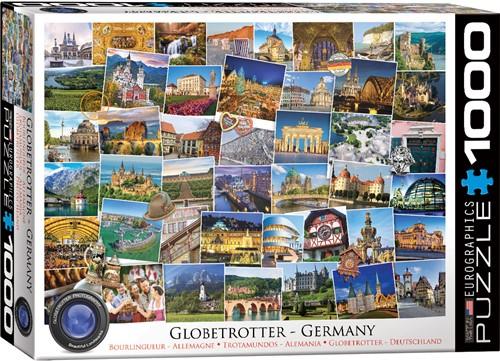 Eurographics puzzle Globetrotter Deutschland - 1000 Teile