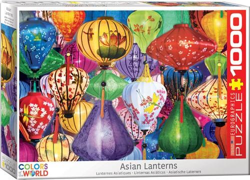 Eurographics puzzle Asiatische Laternen - 1000 Teile