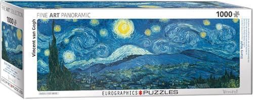 Eurographics puzzle Van Gogh Vincent: Sternennacht über der Rhone - 1000 Teile