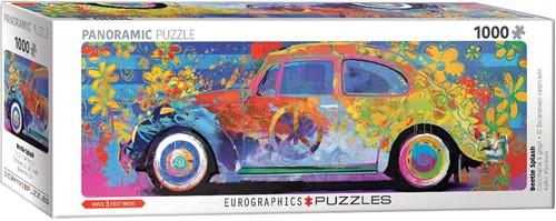 Eurographics puzzle VW Beetle - Splash Pano - 1000 Teile