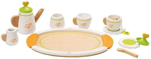 Hape Holzküche Zubehör Teeservice für Zwei