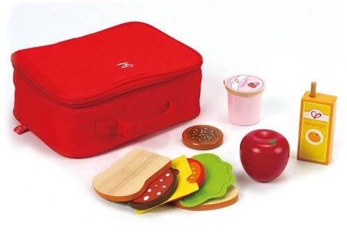 Hape Holzküche Zubehör Pausenbrot-Set